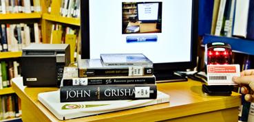 RFID de SerDoc para bibliotecas